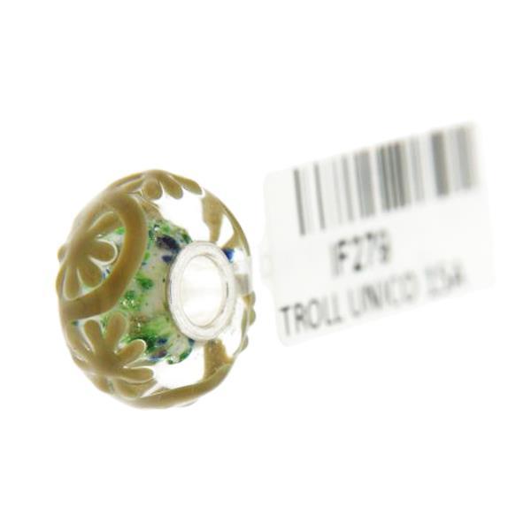 Trollbeads Unico in Vetro - OOAK Original Trollbeads  Rif. UNICO 15A - TROLLBEADS