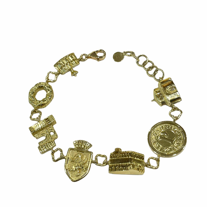 Bracciale di Perugia in Oro 750‰ - Monumenti di Perugia - BARTOCCINI