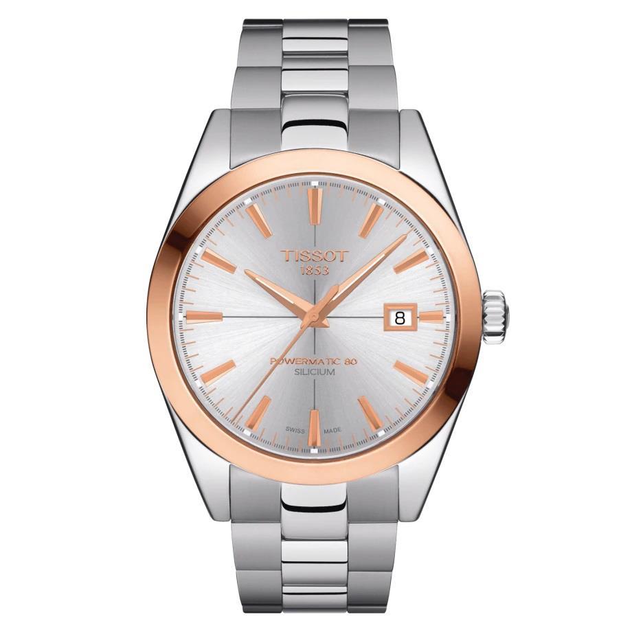 Orologio Tissot - Gentleman Powermatic 80 Silicium 18k Gold Ref. T9274074103100 - TISSOT