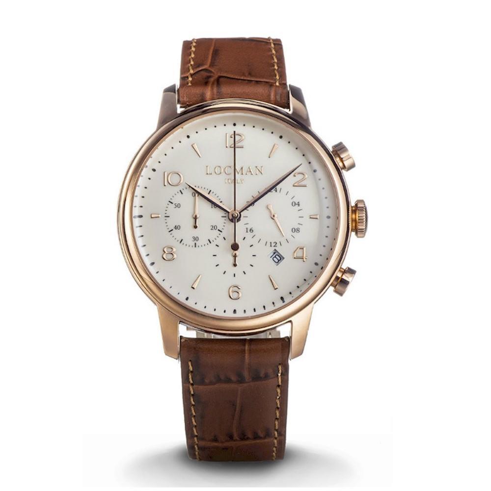 Orologio Locman - 1960 Crono Ref. 0254R05R-RRAVRG2PN - LOCMAN