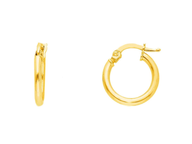 Orecchini cerchio in Oro Giallo cm 1  Ref. 008645 - BARTOCCINI G