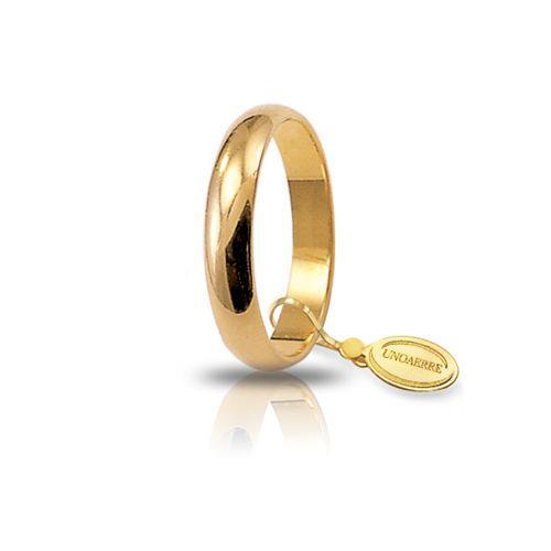 Fede Unoaerre - Fede Classica Oro Giallo gr. 4,00 Misura 18 Ref. 40AFN1-01 - UNOAERRE