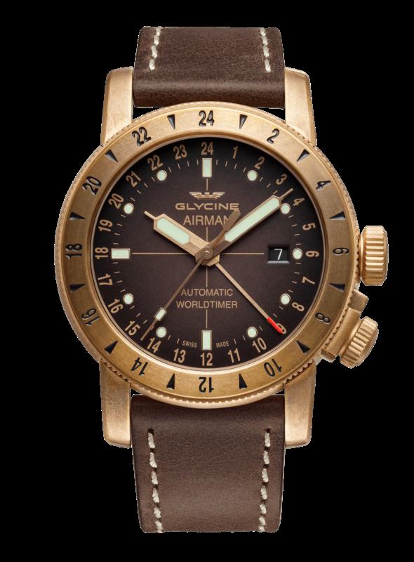 Orologio Glycine - Airman 44 Bronze Ref. GL0166 - GLYCINE