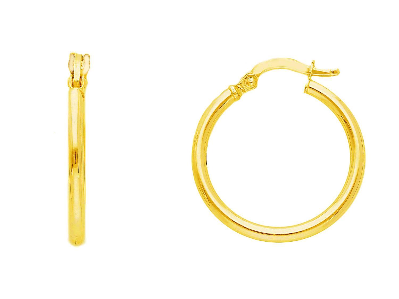 Orecchini cerchio in Oro Giallo cm 1,5 Ref. 219955 - BARTOCCINI G