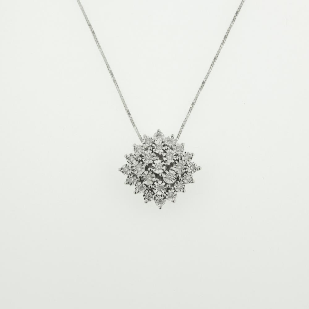 Girocollo con Diamanti ct. 0,11 Ref. IK133   - BARTOCCINI