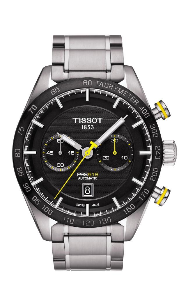 OROLOGIO TISSOT - PRS 516 AUTOMATIC CHRONOGRAPH Ref. T1004271105100 - TISSOT