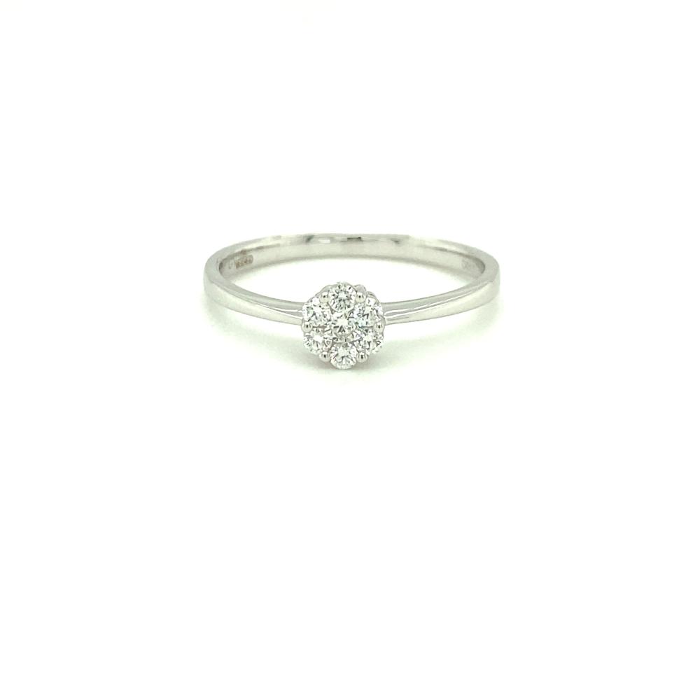 Anello Visconti - Anello Con Diamanti Bianchi Ct. 0,38 Ref. 46171324 -