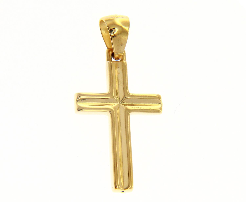 Croce in Oro Giallo Ref. 156699 - BARTOCCINI G