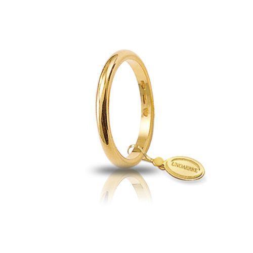 Fede Unoaerre - Fede Classica Oro Giallo gr. 3,00 Misura 21 Ref. 30AFN1-01 - UNOAERRE