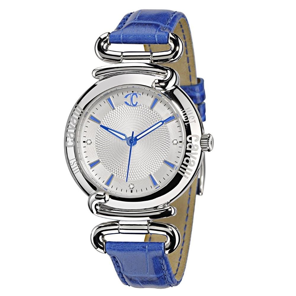Orologio Just Cavalli pelle blu Ref. R7251174645  - JUST CAVALLI