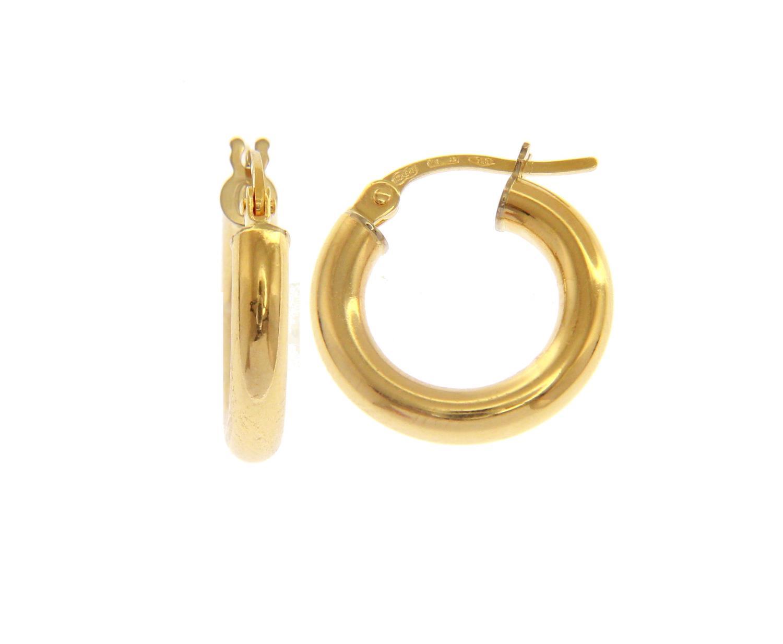 Orecchini cerchio in Oro Giallo cm 1 Ref. 147471 - BARTOCCINI G