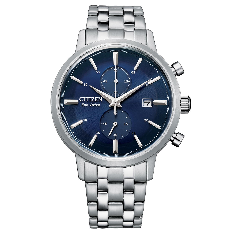 Orologio Citizen Classic Crono quadrante blu  Ref. CA7060-88L - CITIZEN