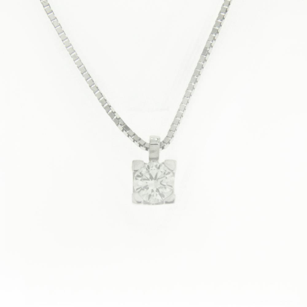 Girocollo Punto Luce con Diamanti Bianchi ct. 0,08 Ref. IO355 - FIDELA