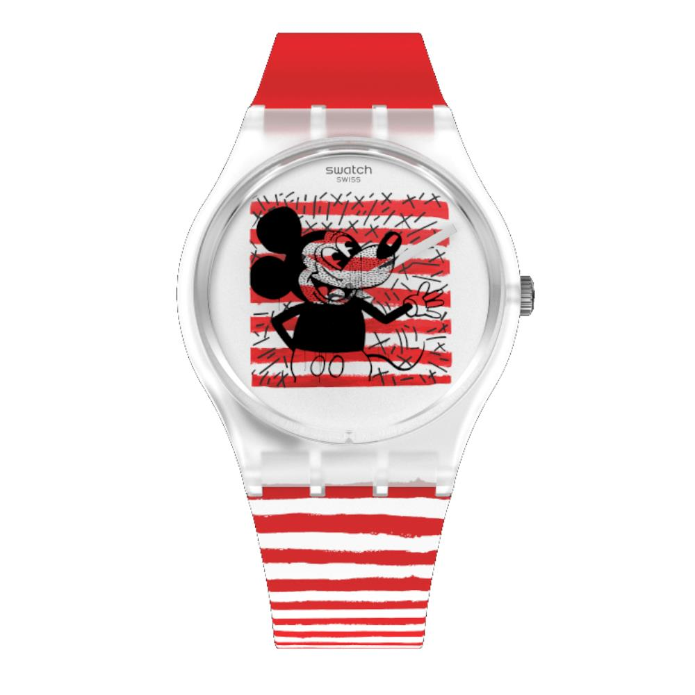 Orologio Swatch - Michey Mouse Marinière Ref. GZ352* - SWATCH