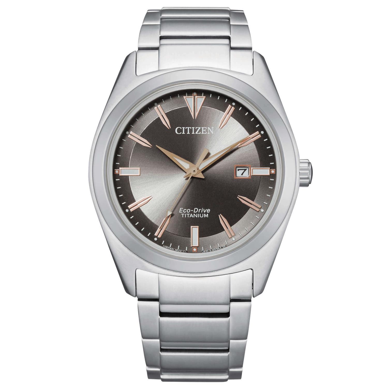 Orologio Citizen Uomo Super Titanio 1640 Antracite Ref. AW1640-83H - CITIZEN