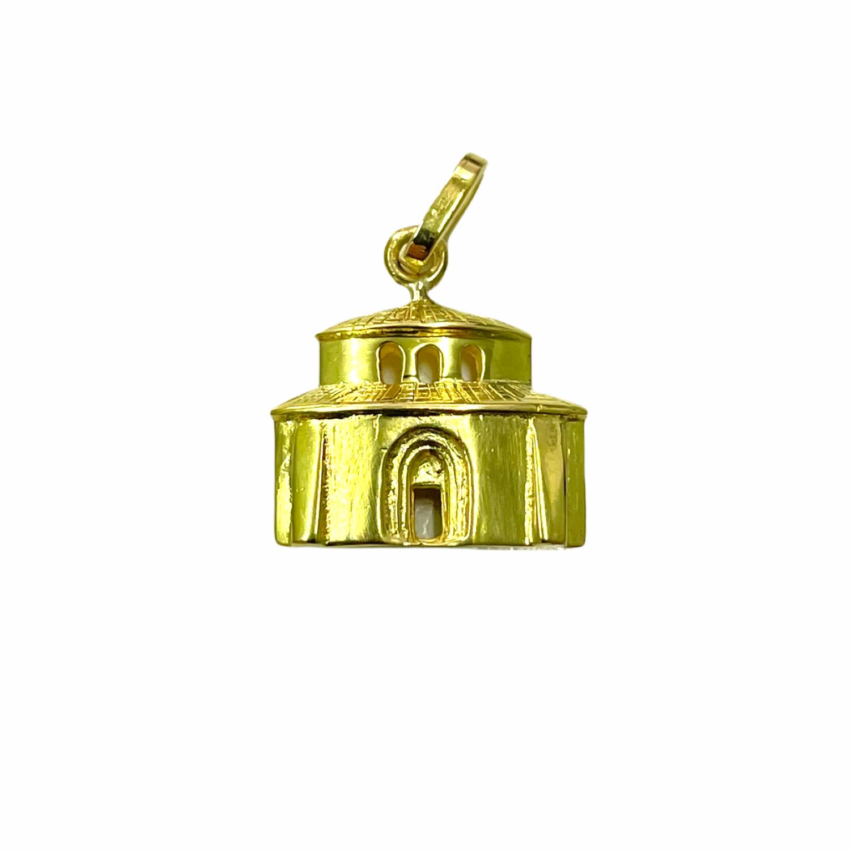 Ciondolo Tempietto in Oro 750‰ - Monumenti di Perugia - BARTOCCINI Z