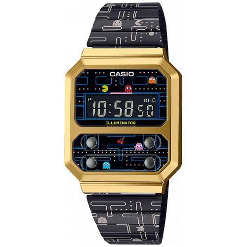 Orologio Casio × PAC-MAN Ref. A100WEPC-1BER - CASIO