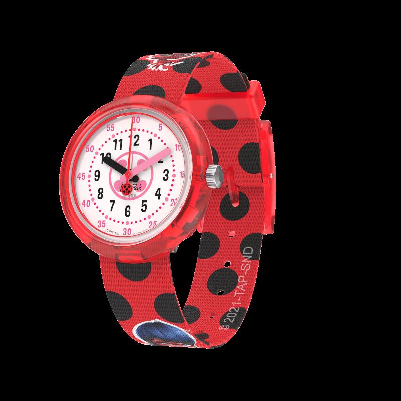 Orologio Flik Flak Miraculous Ladybug Ref. FPNP106 - FLIK FLAK