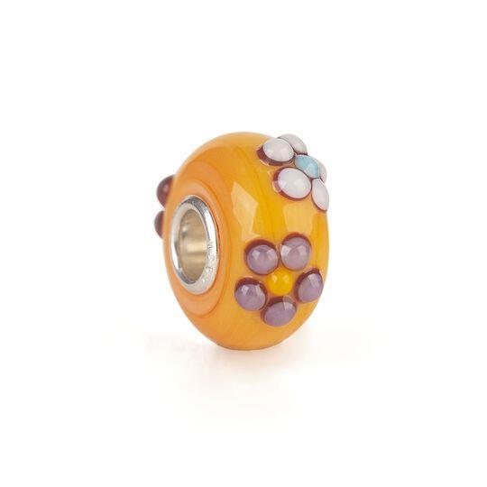 Thun By Trollbeads - Bead in Vetro Bouquet Arancione Ref. TGLBE-20143 - TROLLBEADS
