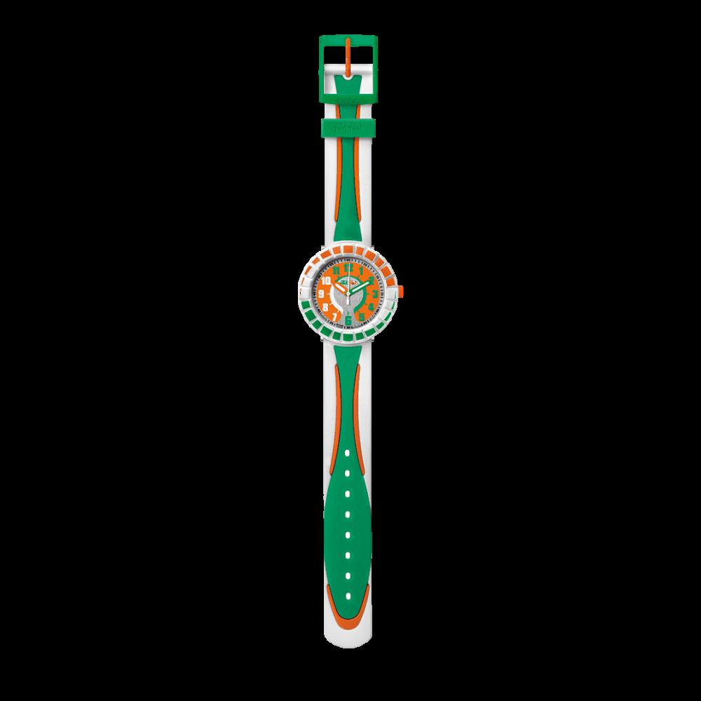 Orologio Flik Flak - All around Green & Orange Ref. FCSP007 - FLIK FLAK