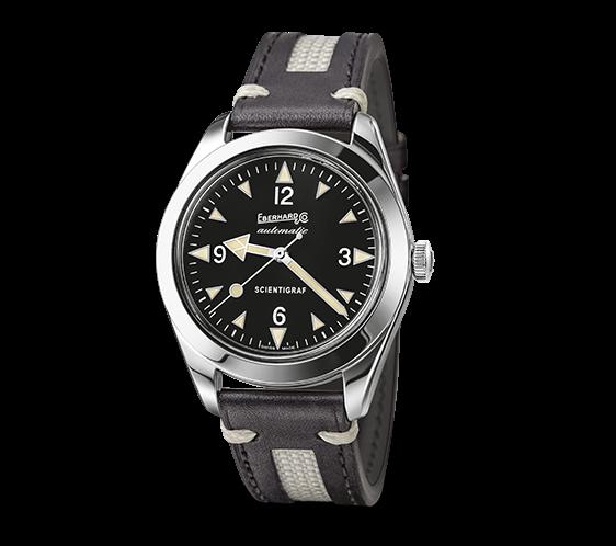 Orologio Eberhard Scentigraf cuoio Ref. 41043.01 - EBERHARD