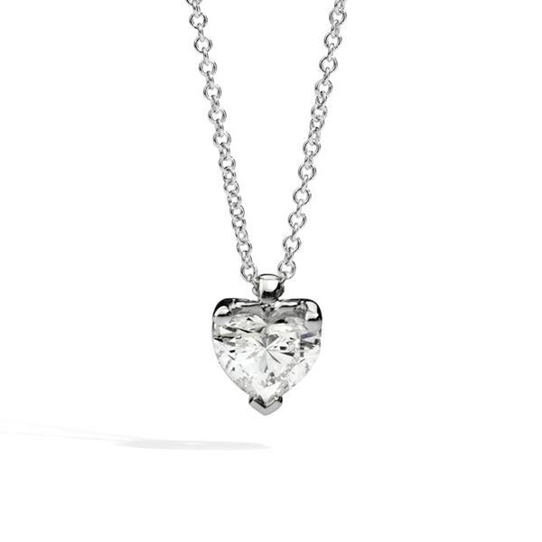 Collana Recarlo - Anniversary Love taglio cuore Modello P67PX001/030 - RECARLO