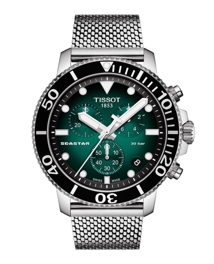 Orologio Tissot - Seastar 1000 Chronograph Ref. T1204171109100 - TISSOT