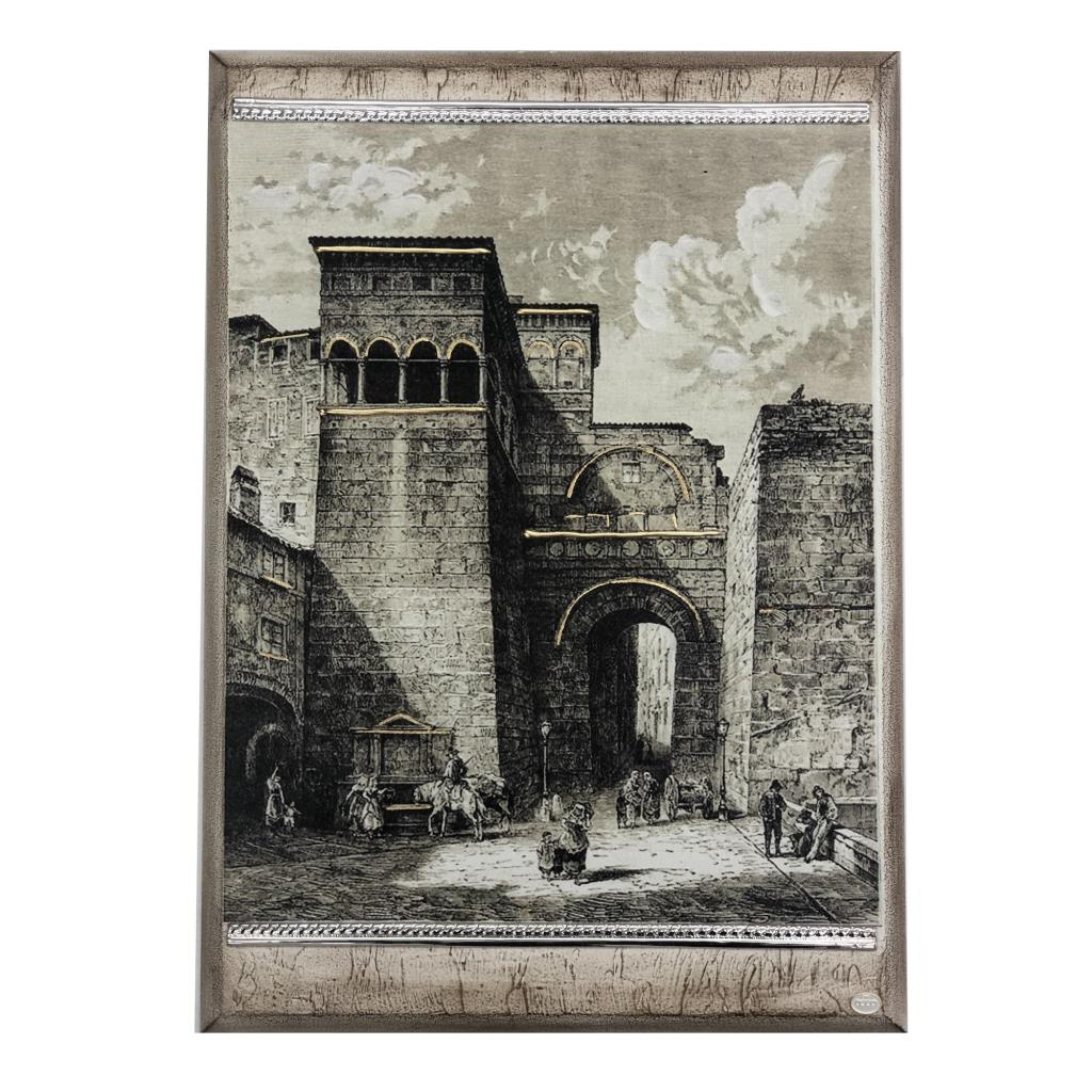 Quadro Vedute di Perugia - Arco Etrusco Ref. PERUGIA 2 - ACCA