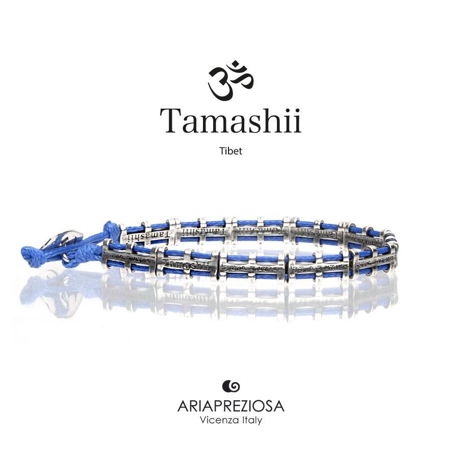 Bracciale Tamashii Bandiere Tibetane small blu Ref.BHS924-S5B - TAMASHII