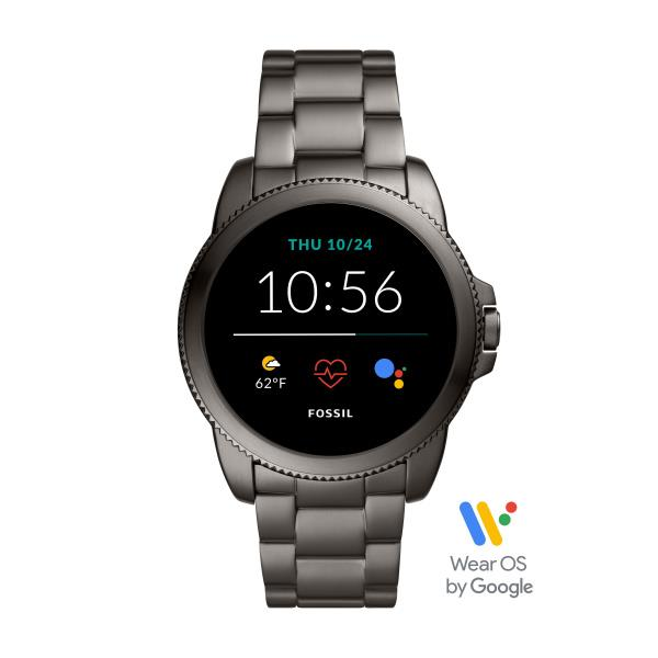 Smartwatch Fossil GEN 5E bracciale in acciaio grigio fumo Ref. FTW4049 - FOSSIL