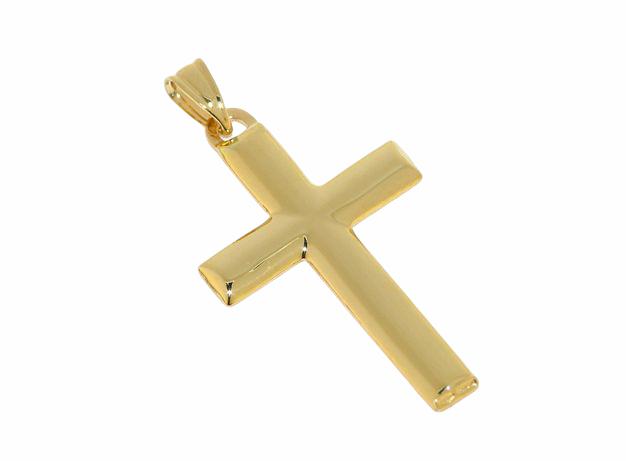 Croce in Oro Giallo Ref. 153151 - BARTOCCINI G