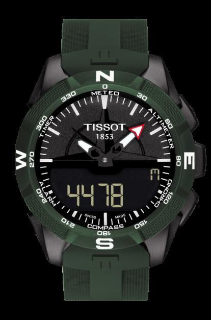 OROLOGIO TISSOT - T-TOUCH EXPERT SOLAR II Ref. T1104204705100  - TISSOT