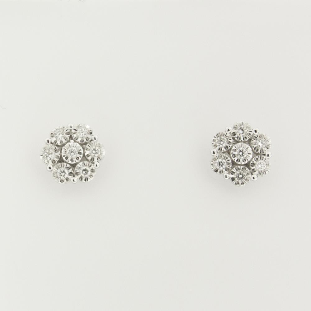 Orecchini Visconti con Diamanti Bianchi ct.0,19 Ref. BBX38665 - VISCONTI