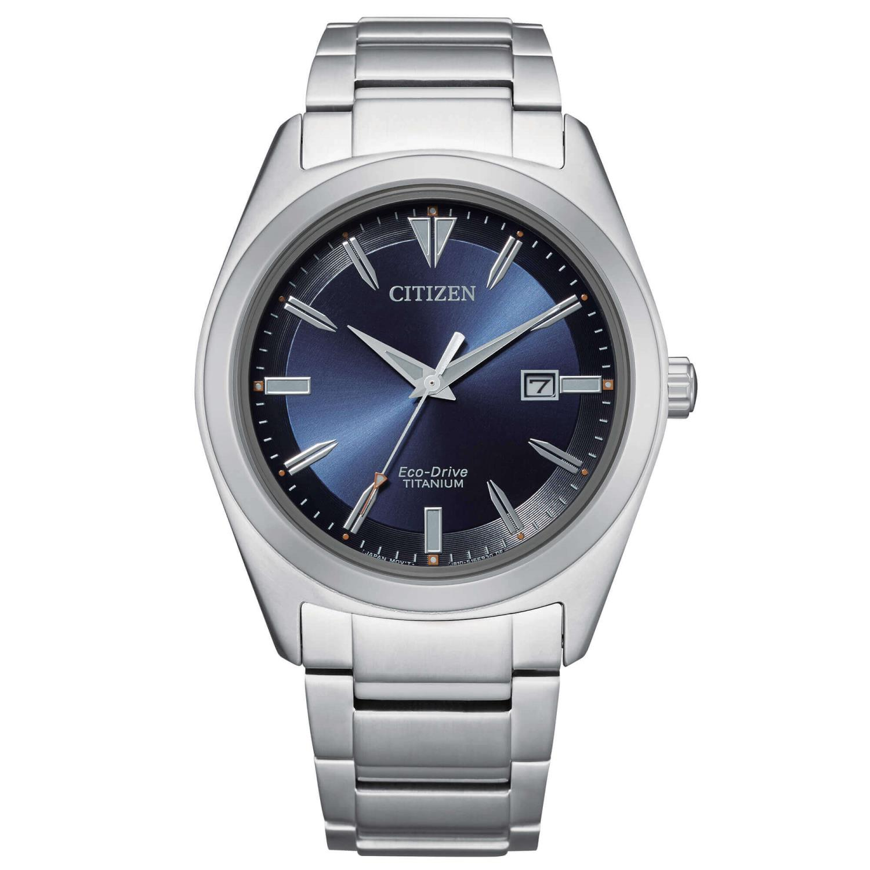 Orologio Citizen Uomo Super Titanio 1640 Blu Ref. AW1640-83L - CITIZEN