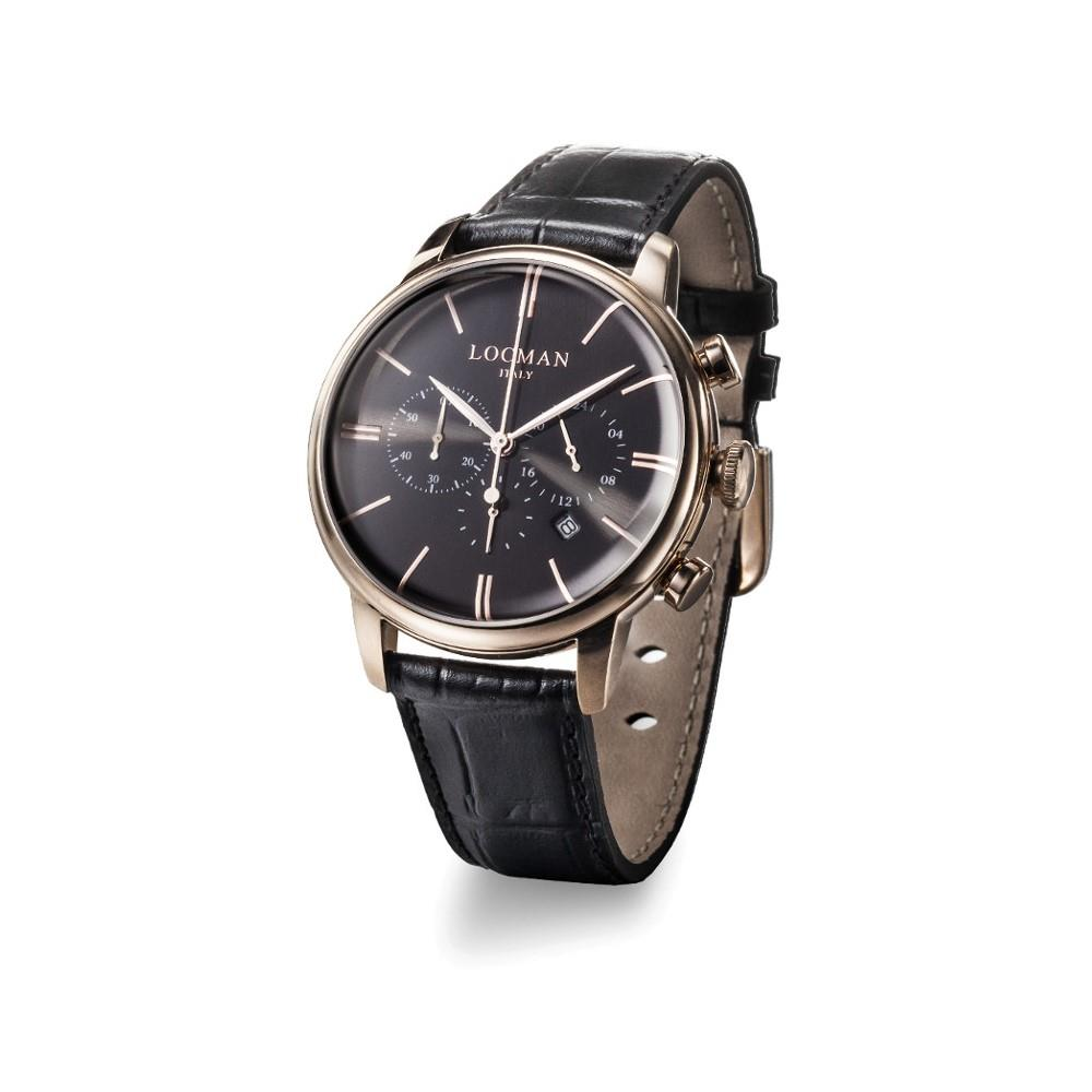 Orologio Locman - 1960 Crono Ref. 0254R01R-RRBKRGPK - LOCMAN