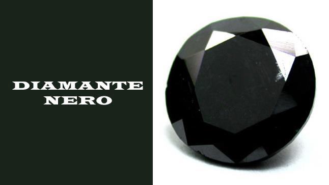 Diamante nero certificato  ct. 1,35 - DIAMANTI