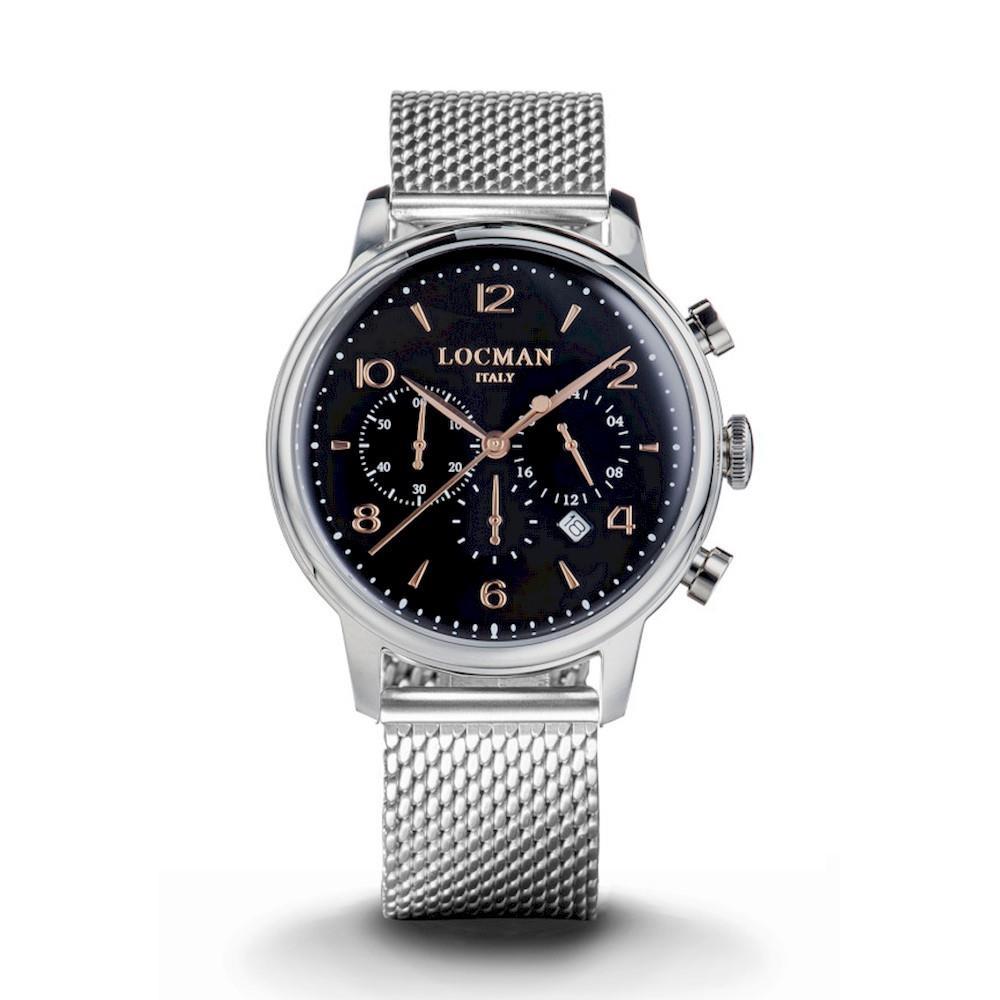 Orologio Locman - 1960 Crono Ref. 0254A01R-00BKRG2B0 - LOCMAN