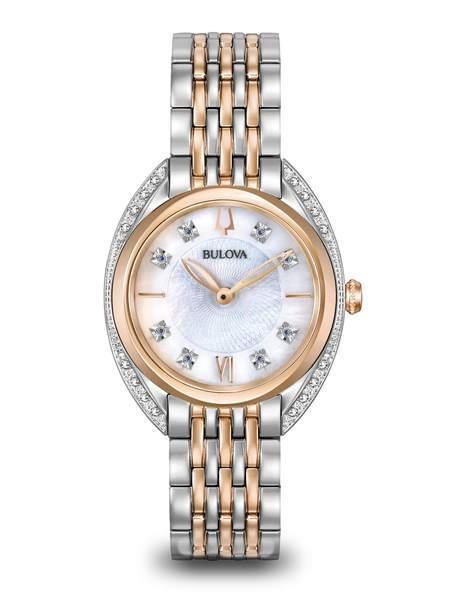 Orologio Bulova - Orologio da Donna con diamanti Classic Ref. 98R270 - BULOVA