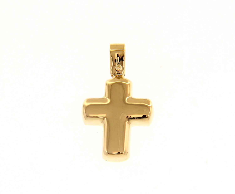 Croce in Oro Giallo Ref. 226408 - BARTOCCINI G