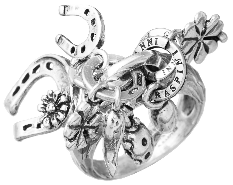 Giovanni Raspini - Anello Charms Amuleti  Ms. 16 Ref. 11244/16 - RASPINI